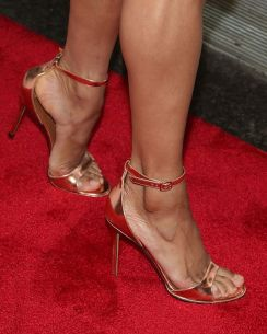 NEW YORK, NY - MAY 28: Misty Copeland, shoe detail, attends the 2015 Fresh Air Fund's Salute To American Heroes at Pier Sixty at Chelsea Piers on May 28, 2015 in New York City. (Photo by Taylor Hill/FilmMagic)